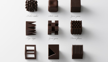 Nendo Chocolatexture Box of Chocolates Maison et Objet 1