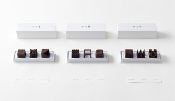 Nendo Chocolatexture Box of Chocolates Maison et Objet 13