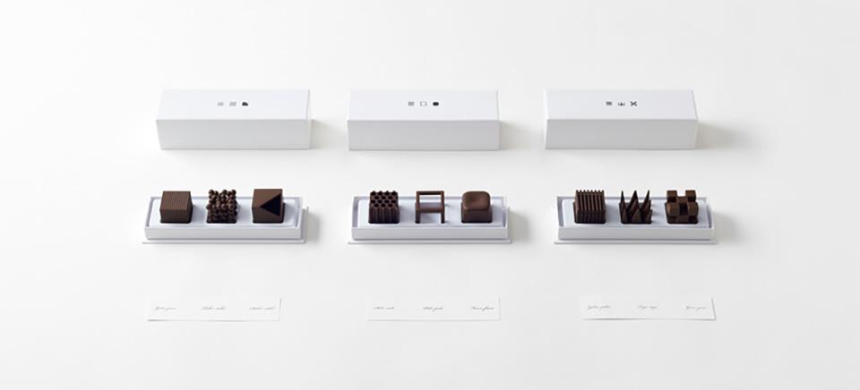 Nendo Chocolatexture Box of Chocolates Maison et Objet 13