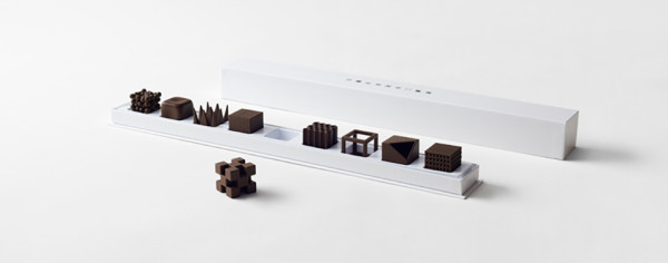 Nendo Chocolatexture Box of Chocolates Maison et Objet 14