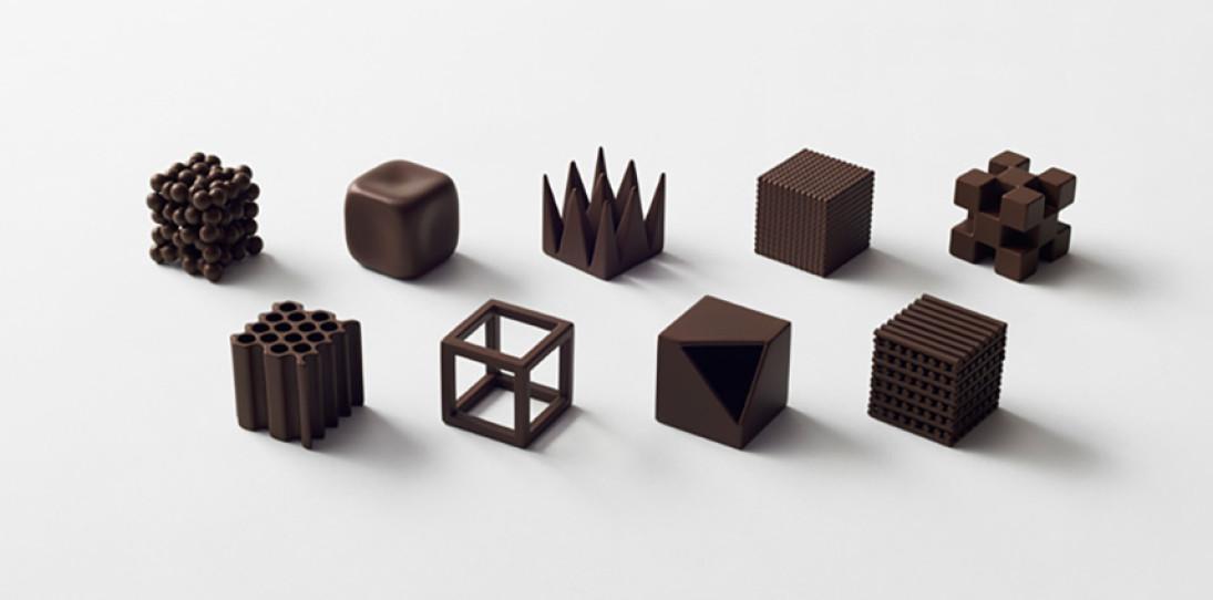 Nendo Chocolatexture Box of Chocolates Maison et Objet 7