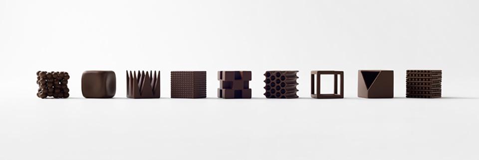 Nendo Chocolatexture Box of Chocolates Maison et Objet 8