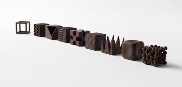 Nendo Chocolatexture Box of Chocolates Maison et Objet 9