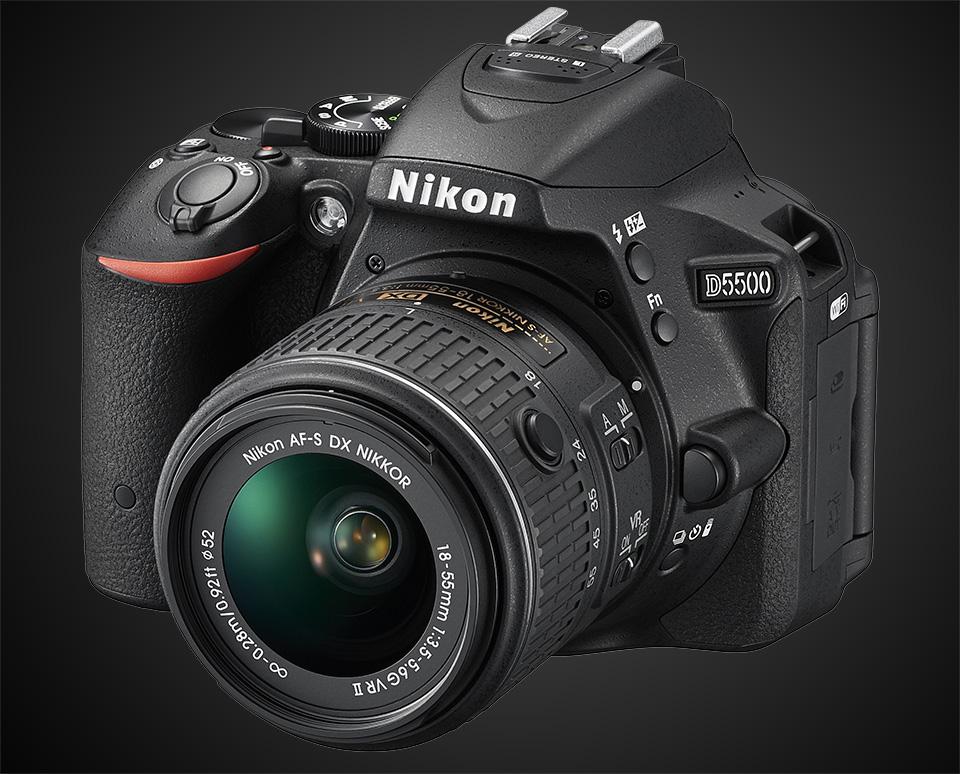 Nikon D5500 DSLR 1