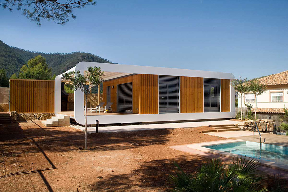 Noem Smart Refuge Quick-Built Prefab House 2
