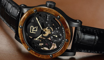 Ralph Lauren RL Automotive Skeleton Watch 2 345x200 Ralph Laurens $35,000 Skeleton Watch is Inspired by a $40M Bugatti