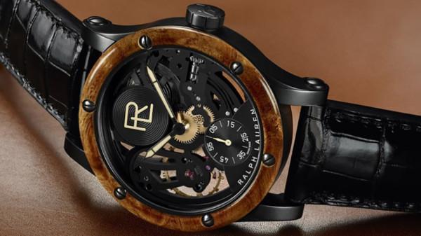 Ralph Lauren RL Automotive Skeleton Watch 2 600x337 Ralph Laurens $35,000 Skeleton Watch is Inspired by a $40M Bugatti
