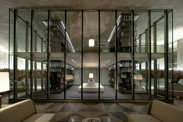 Ulus Savoy Clubhouse by Autoban 1 600x399 This Cool Concrete Cavern is an Exclusive Clubhouse in Istanbul