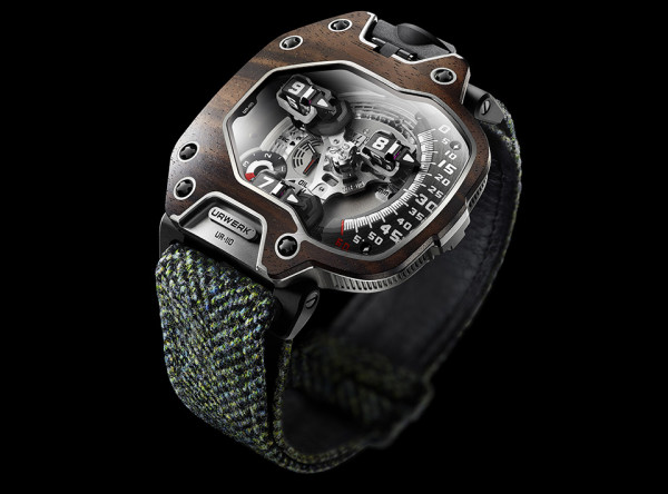 Urwerk UR 110 Eastwood Watch 1 600x444 The Urwerk UR 110 Eastwood Watch is Hand Built for 19th Century Time Travelers