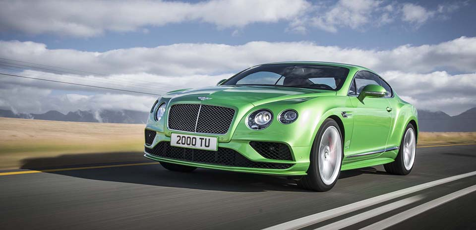 2016 Bentley Continental GT 1