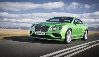 2016 Bentley Continental GT 4