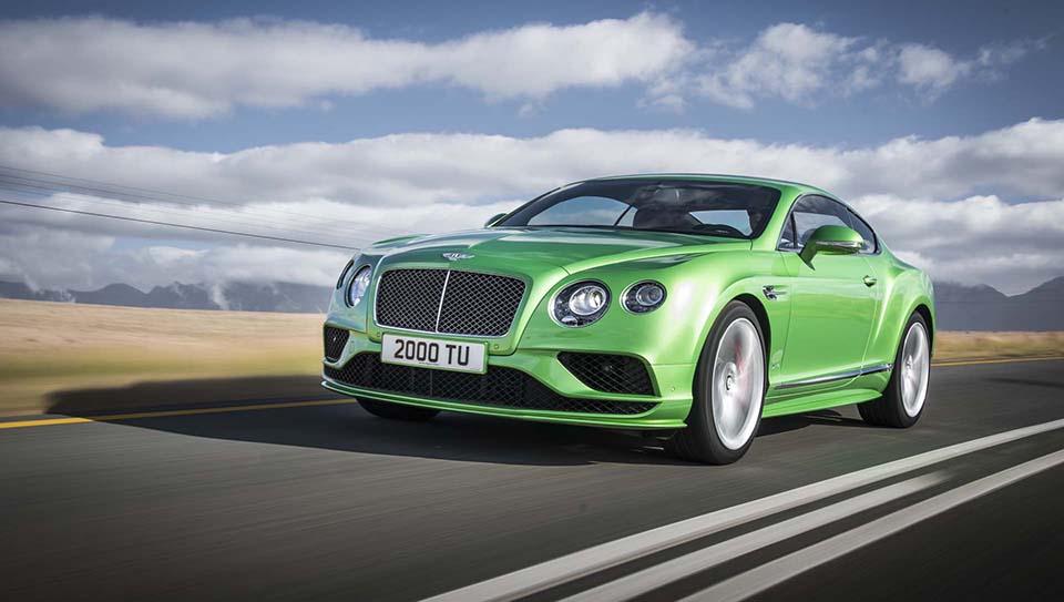 2016 Bentley Continental GT 4