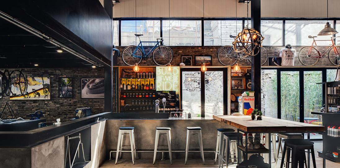 Factory Five Bike Shop - Shanghai - Linehouse Architecture - hero 2