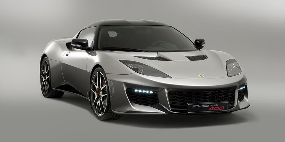Lotus Evora 400 1