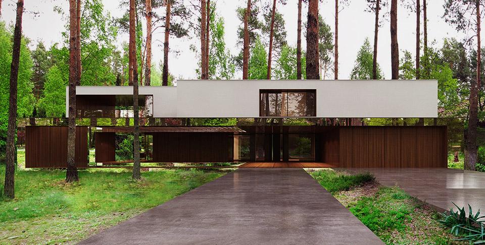 Mirror House by Reform Architekt – Izablin House – Marcin Tomaszewski 1