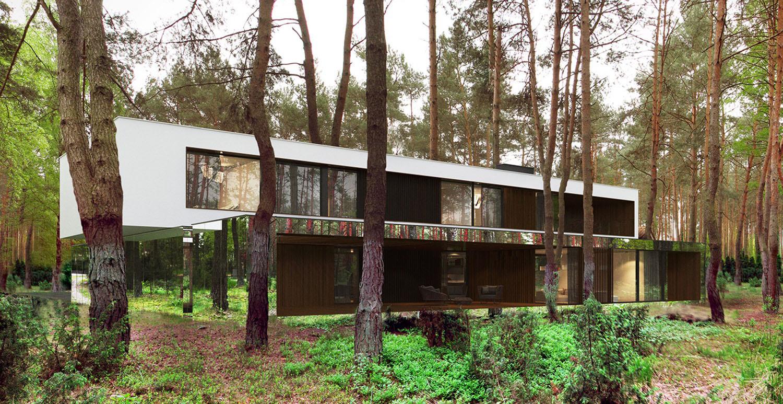 Mirror House by Reform Architekt – Izablin House – Marcin Tomaszewski 3