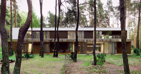 Mirror House by Reform Architekt Izablin House Marcin Tomaszewski 4 600x316 This Amazing Mirror House In The Forest Is An Illusion To Those Who Approach