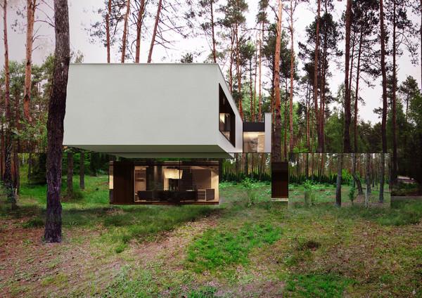 Mirror House by Reform Architekt - Izablin House - Marcin Tomaszewski 5