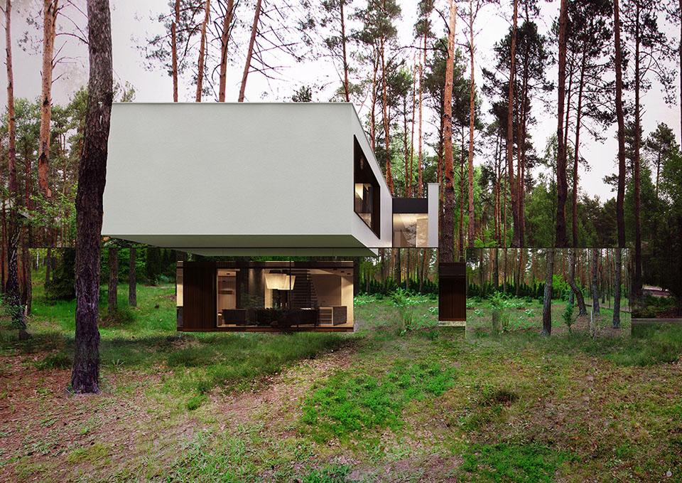Mirror House by Reform Architekt – Izablin House – Marcin Tomaszewski 5