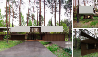 Mirror House by Reform Architekt - Izablin House - Marcin Tomaszewski - hero