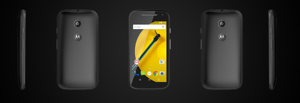 Motorola Moto E version 2 unlocked budget android phone 2 bw 600x206 Motorolas Second Gen Moto E is a Cool, Contract Killing $149 Dollar Lollipop