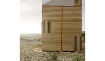 Nomadic Shelter by SALT Siida Workshop 10