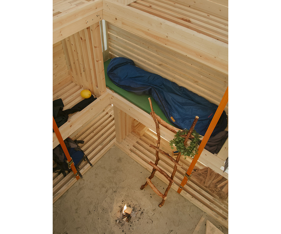 Nomadic Shelter by SALT Siida Workshop 4