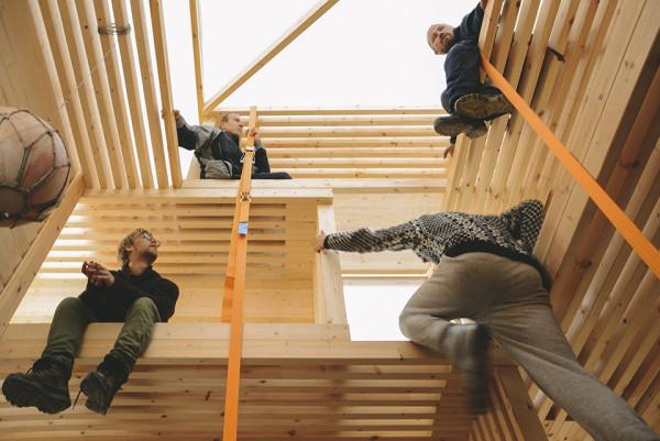 Nomadic Shelter by SALT Siida Workshop 6