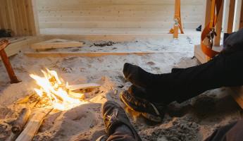Nomadic Shelter by SALT Siida Workshop 7