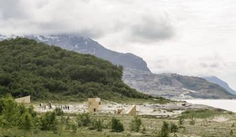 Nomadic Shelter by SALT Siida Workshop 8
