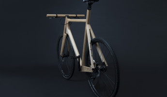 Paul Timmer Wooden Bicycle (1)
