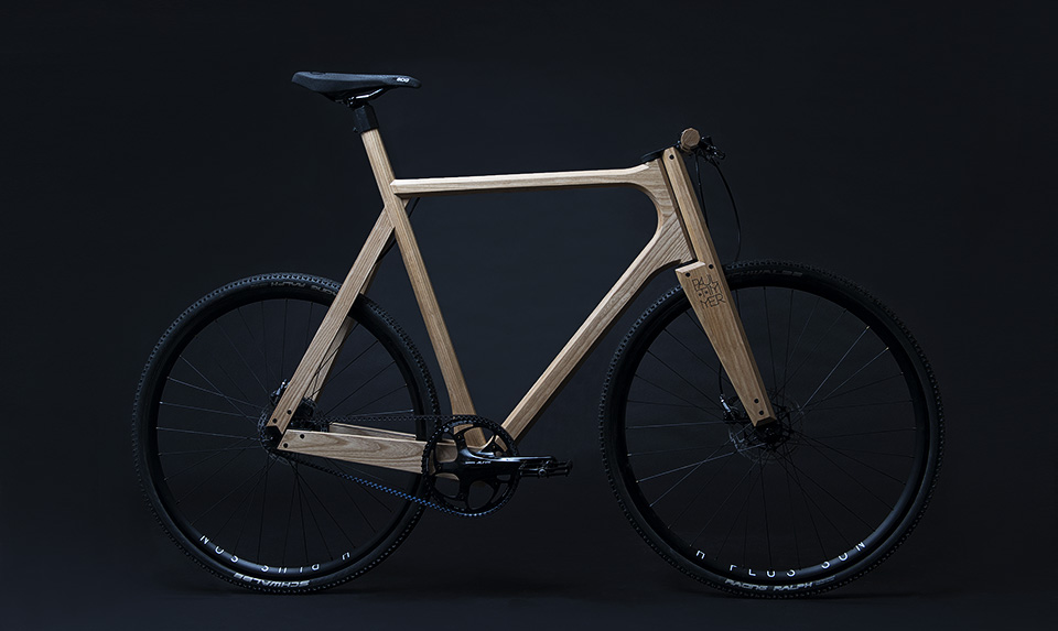 The Amazing And Roadworthy Paul Timmer Wooden Bicycle