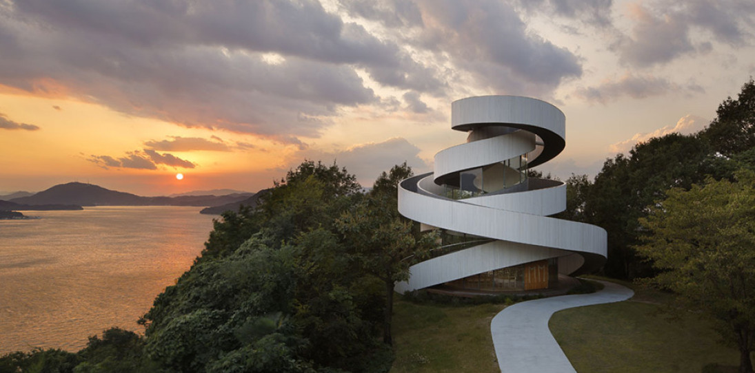 Ribbon Chapel by NAP Architects 1 - photography by Koji Fujii / Nacasa & Partners