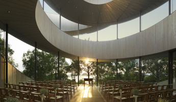 Ribbon Chapel by NAP Architects 10 - photography by Koji Fujii / Nacasa & Partners