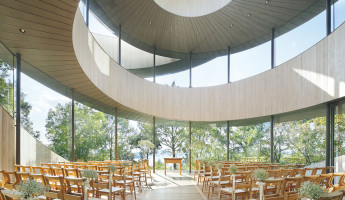 Ribbon Chapel by NAP Architects 12 - photography by Koji Fujii / Nacasa & Partners
