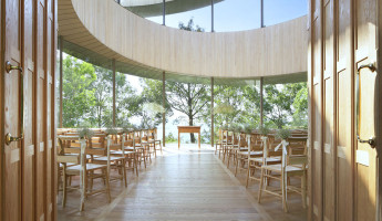 Ribbon Chapel by NAP Architects 2 - photography by Koji Fujii / Nacasa & Partners