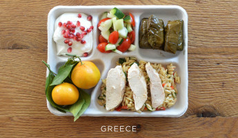School Lunches Around the World - Food Photography by Sweetgreen - Greece