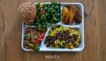 School Lunches Around the World - Food Photography by Sweetgreen - Brazil