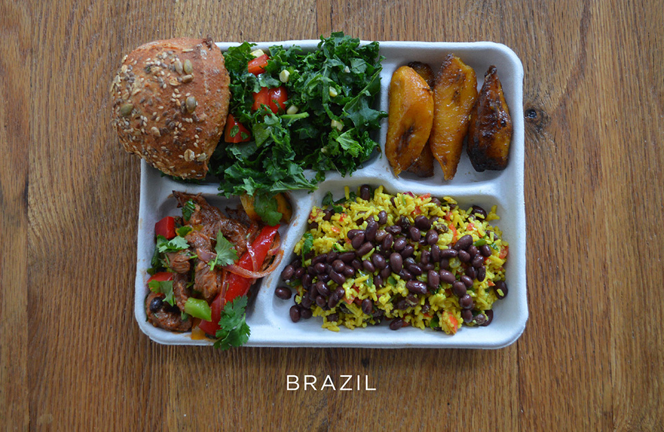 School Lunches Around the World – Food Photography by Sweetgreen – Brazil