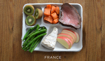 School Lunches Around the World - Food Photography by Sweetgreen - France