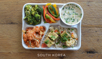 School Lunches Around the World - Food Photography by Sweetgreen - South Korea