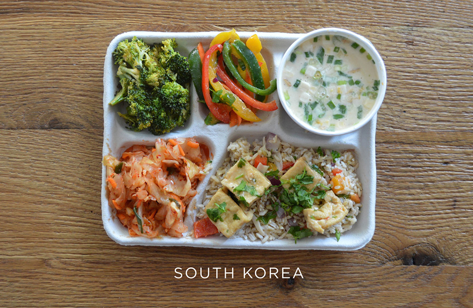 School Lunches Around the World – Food Photography by Sweetgreen – South Korea
