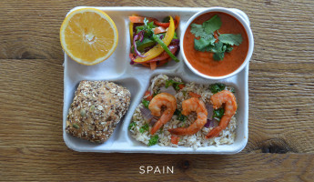 School Lunches Around the World - Food Photography by Sweetgreen - Spain