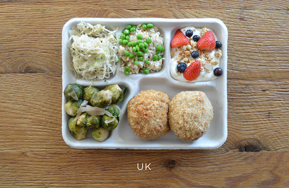 School Lunches Around the World – Food Photography by Sweetgreen – UK