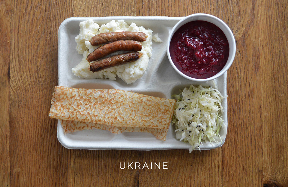 School Lunches Around the World – Food Photography by Sweetgreen – Ukraine