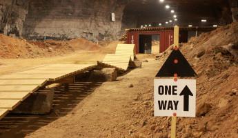Underground Bike Park Louisville Mega Cavern 2