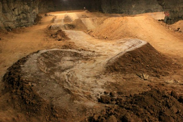 Underground Bike Park Louisville Mega Cavern 7 600x400 This Underground Bike Park is the Largest Indoor Bike Park in the World