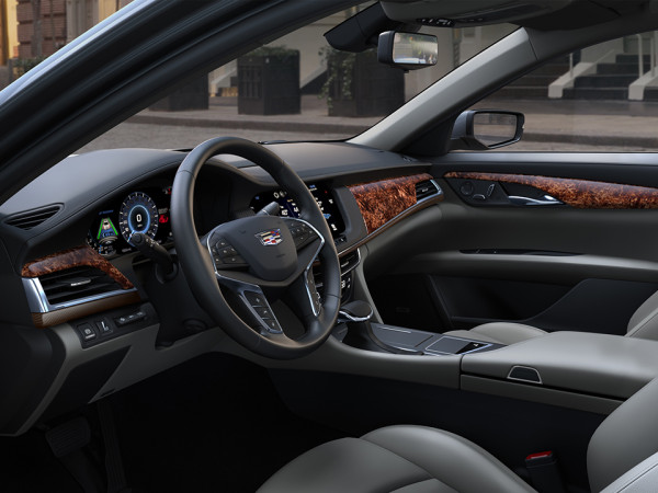 2016 Cadillac CT6 6 600x450 Meet the 2016 Cadillac CT6: The New Standard Bearer in American Luxury