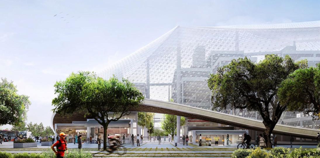 Google New Headquarters Thomas Heatherwick Bjarke Ingels BIG Google North Bayshore Campus 1