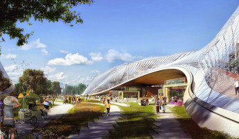 Google New Headquarters Thomas Heatherwick Bjarke Ingels BIG Google North Bayshore Campus 2